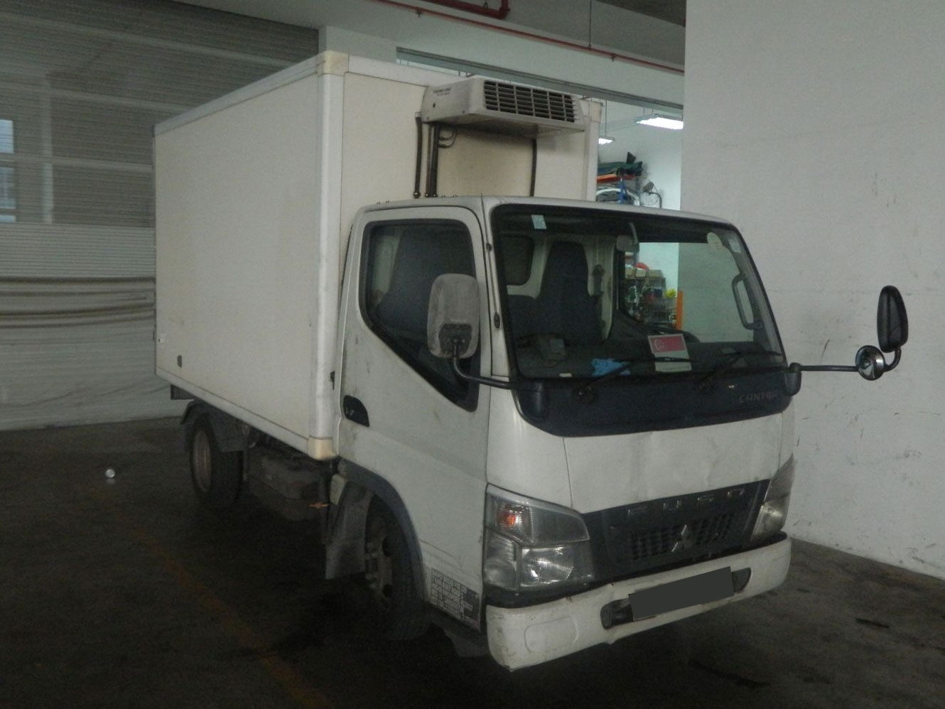 10FT Mitsubishi Fuso Canter FB70 With Chiller (For Lease)