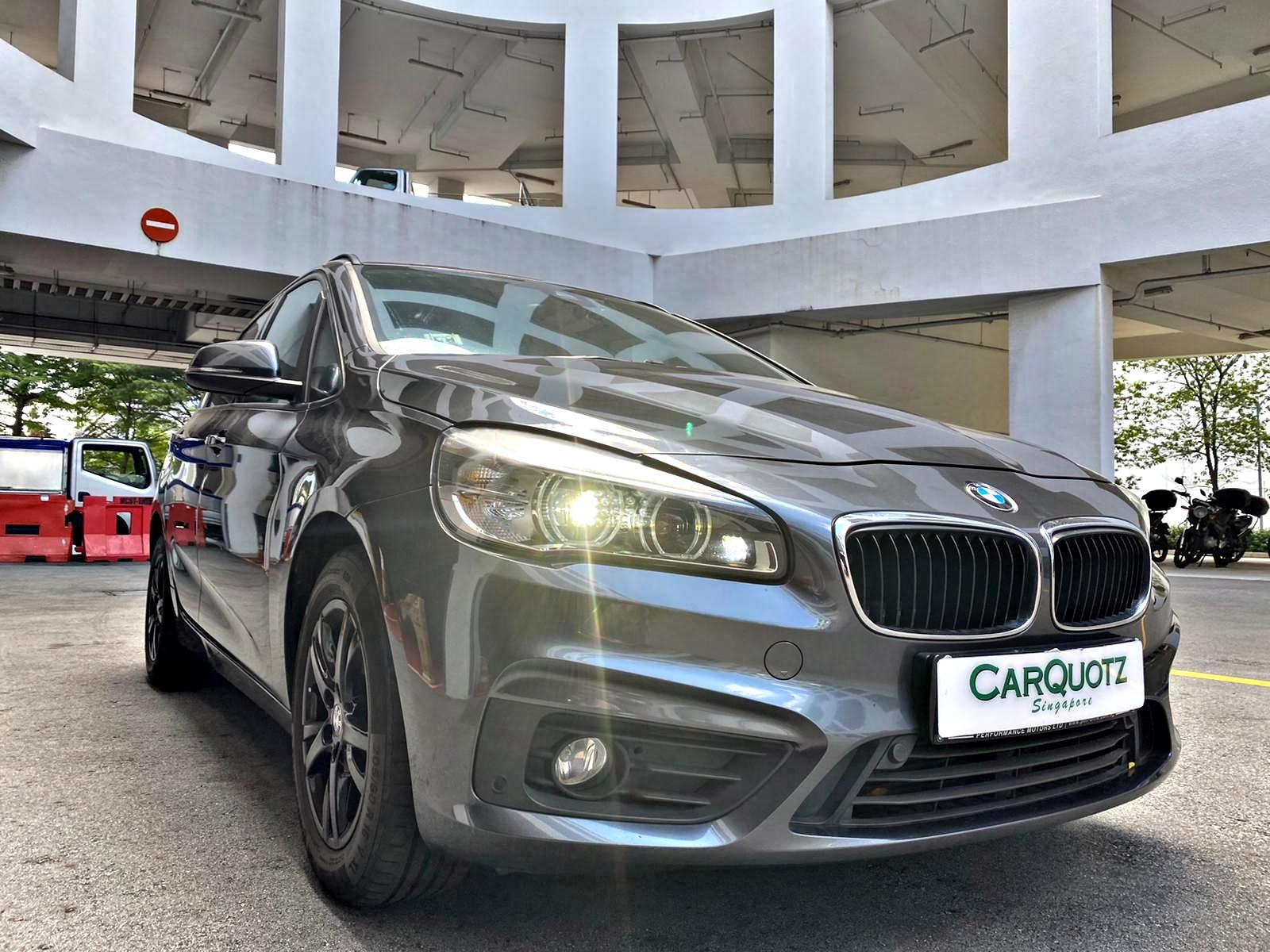 BMW 2 Series 216d Diesel (For Rent)