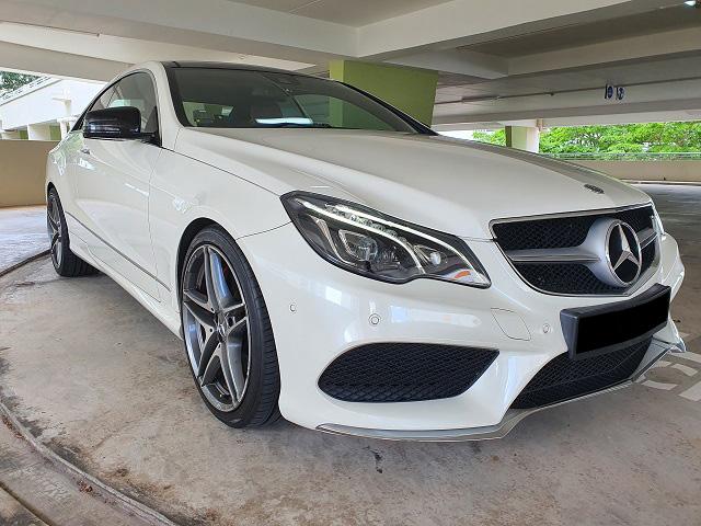Mercedes-Benz E Class E350 (For Rent)
