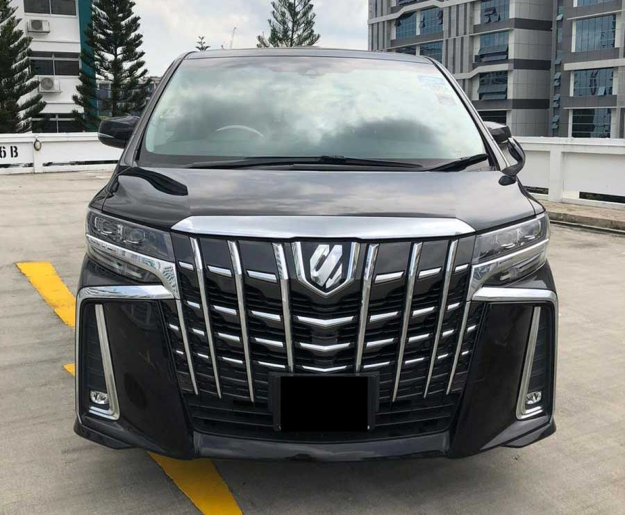 Toyota Alphard 2.5A (For Lease)