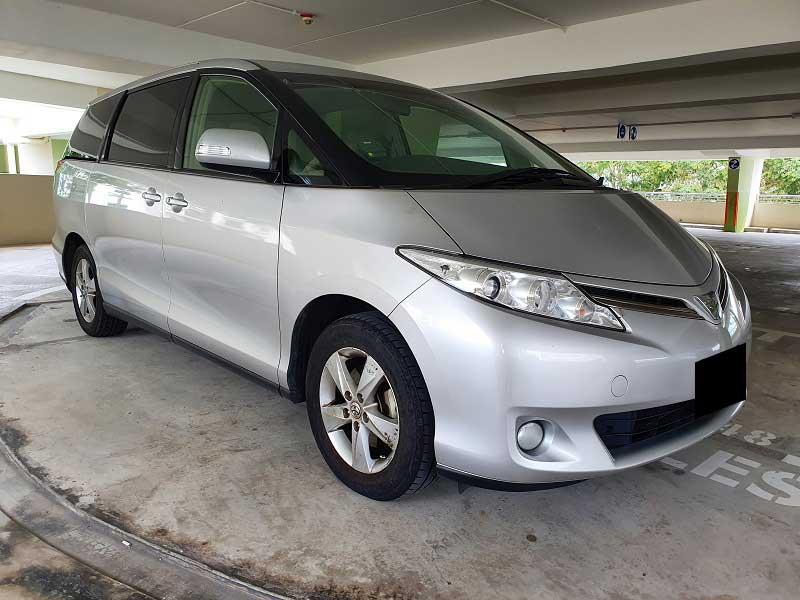 Toyota Estima 2.4A (For Rent)