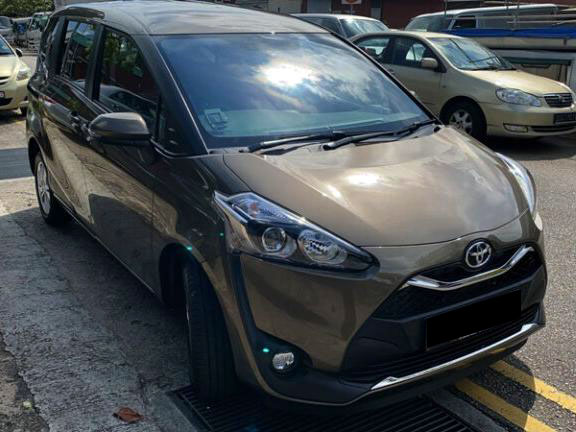 Toyota Sienta 1.5A (For Rent)