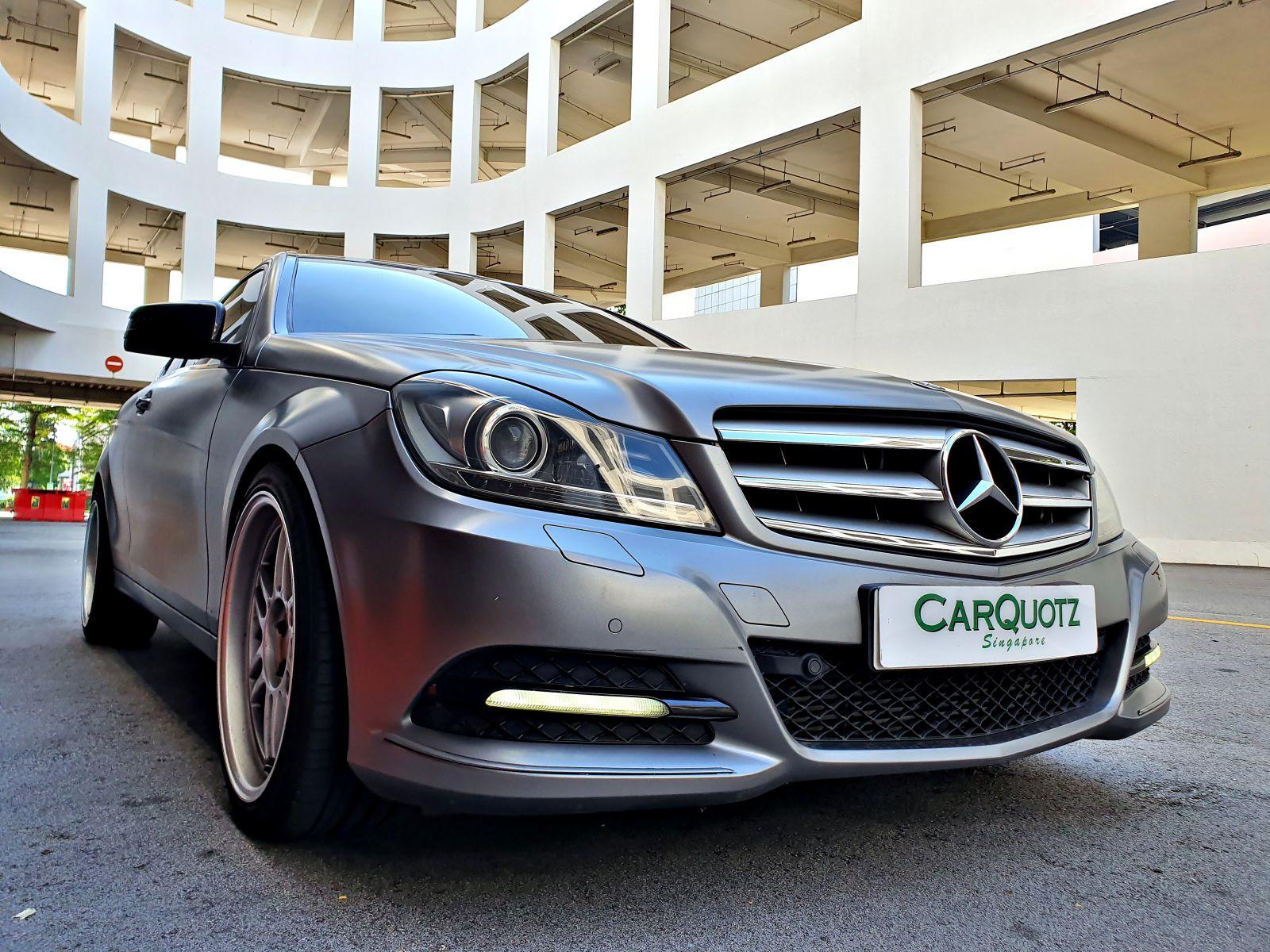 Mercedes-Benz C Class C250 (For Rent)