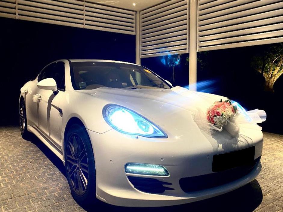 Porsche Panamera 4S (Wedding Car Rental)