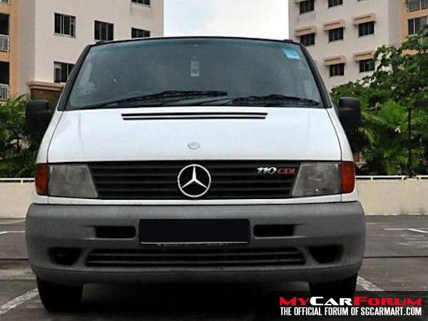 Mercedes-Benz Vito 2.2L (For Rent)