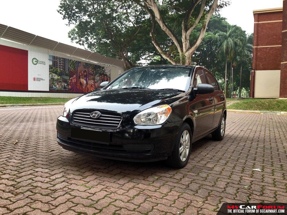 Hyundai Verna 1.4A (For Rent)