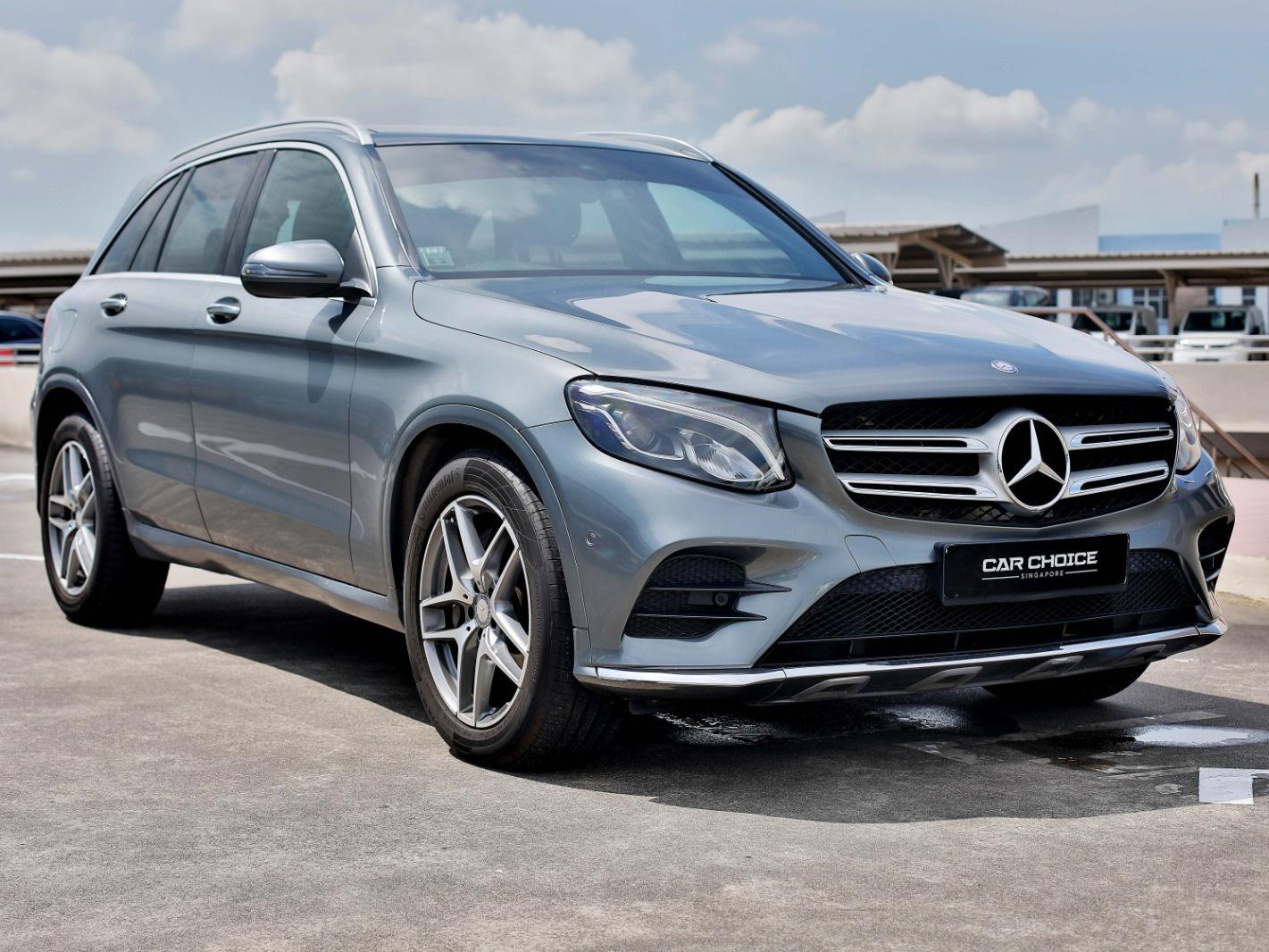 Mercedes-Benz GLC-Class GLC250 4MATIC (For Lease)