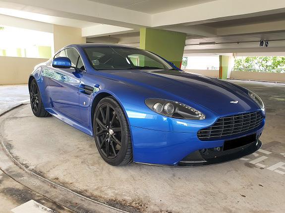 Aston Martin V8 4.7 (For Rent)