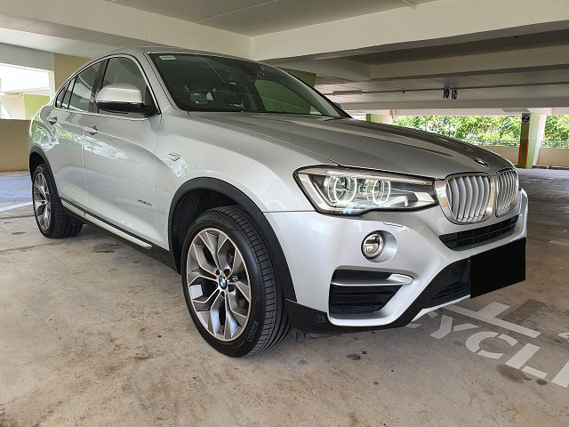 BMW X Series X4 (For Rent)