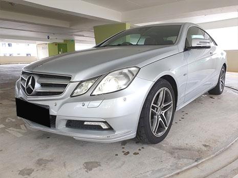 Mercedes-Benz E Class E200 (For Rent)