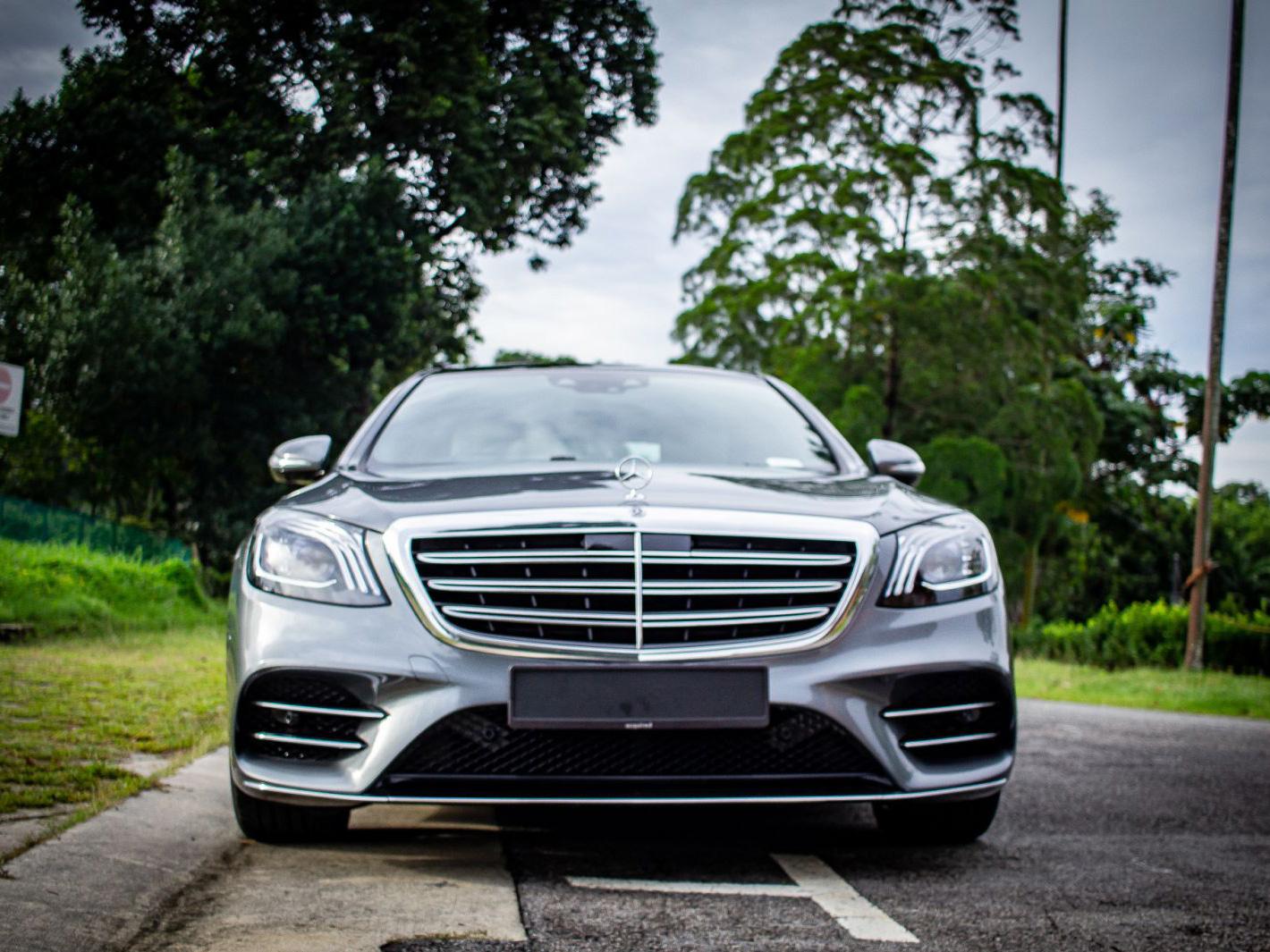 Mercedes-Benz S Class S350L (Wedding Car Rental)