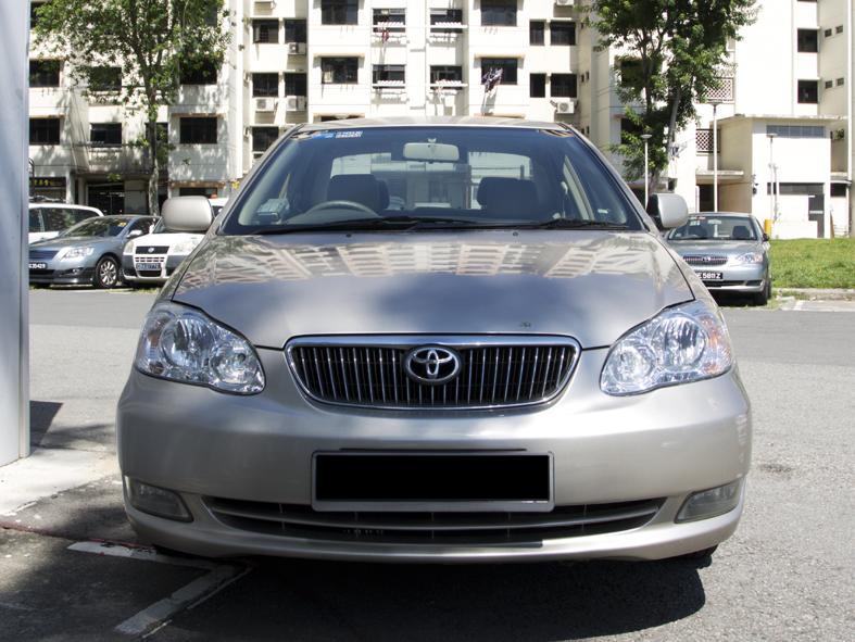 Toyota Corolla Altis 1.6E (For Rent)