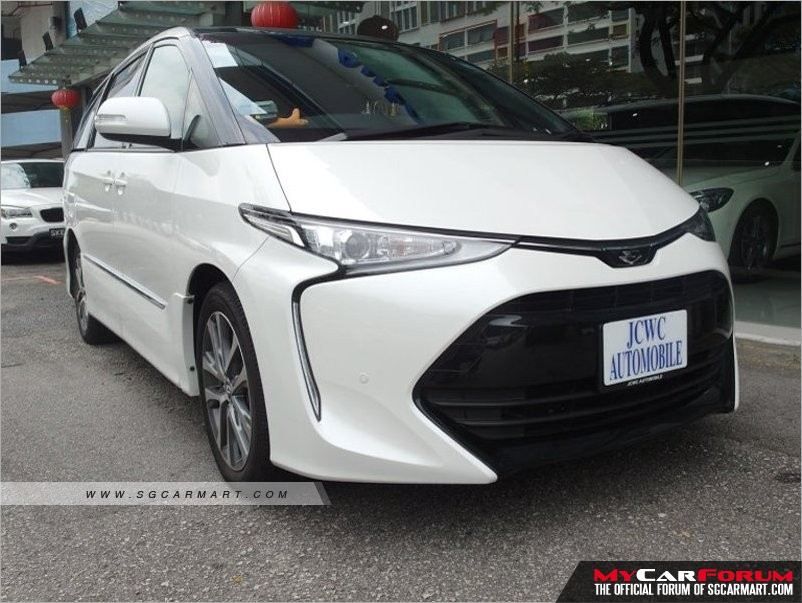 Toyota Estima (For Lease)
