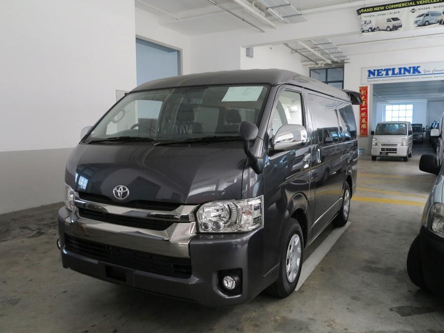 Toyota Hiace Super GL (For Lease)