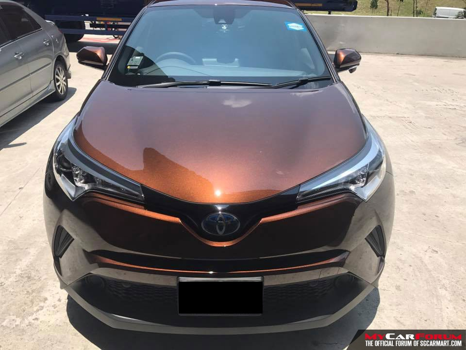 Toyota C-HR (For Rent)