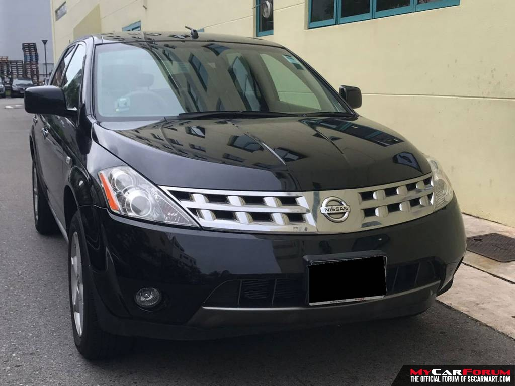 Nissan Murano 2.5A (For Rent)