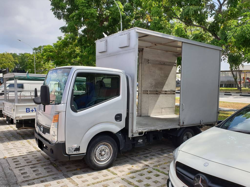 Nissan Cabstar with High Box (For Rent)