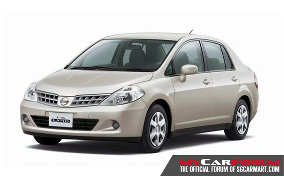 Nissan Latio (For Rent)