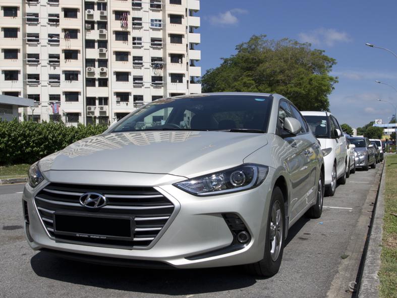 New Car Hyundai Elantra S (For Rent)