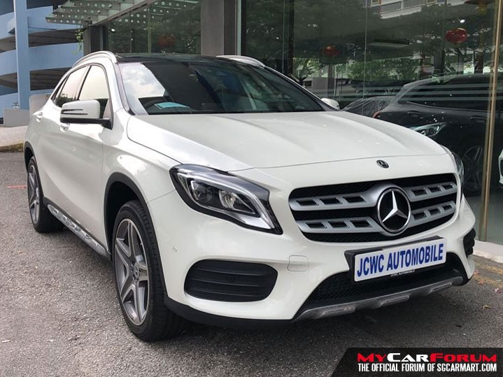Mercedes-Benz GLA-Class GLA200 (For Lease)