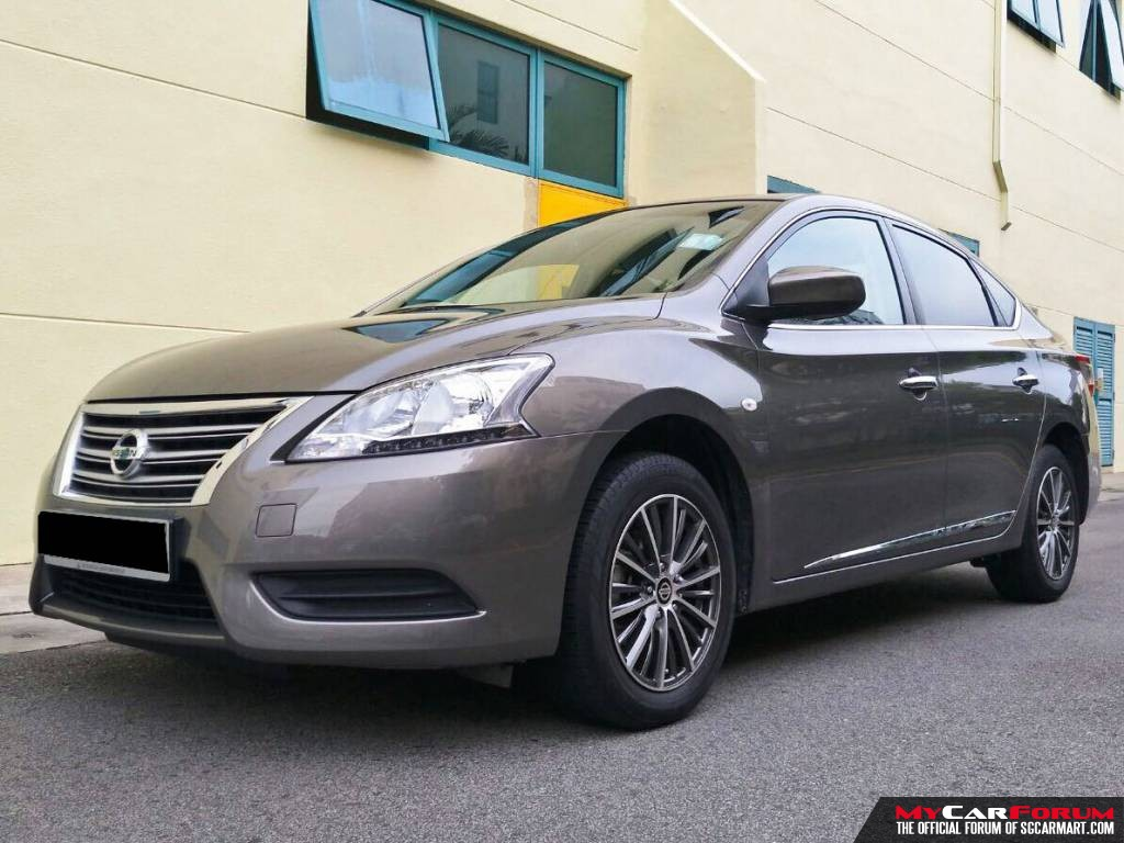 Nissan Sylphy 1.5A CVT (For Rent)