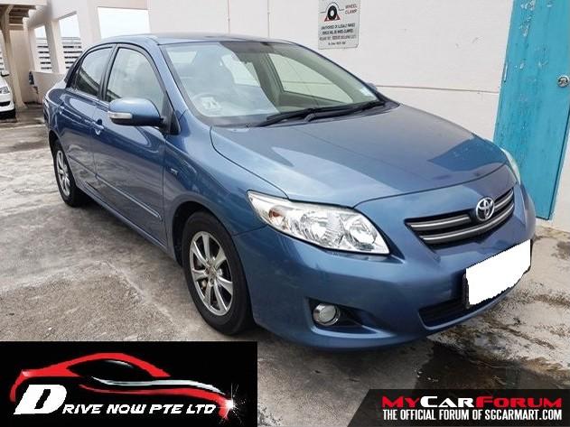 Toyota Corolla Altis (For Lease)