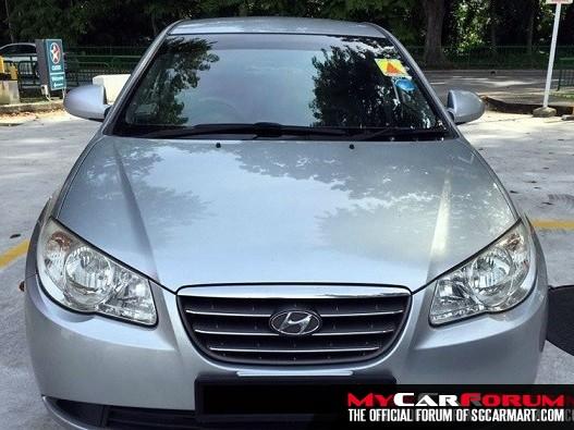 Hyundai Avante (For Rent)