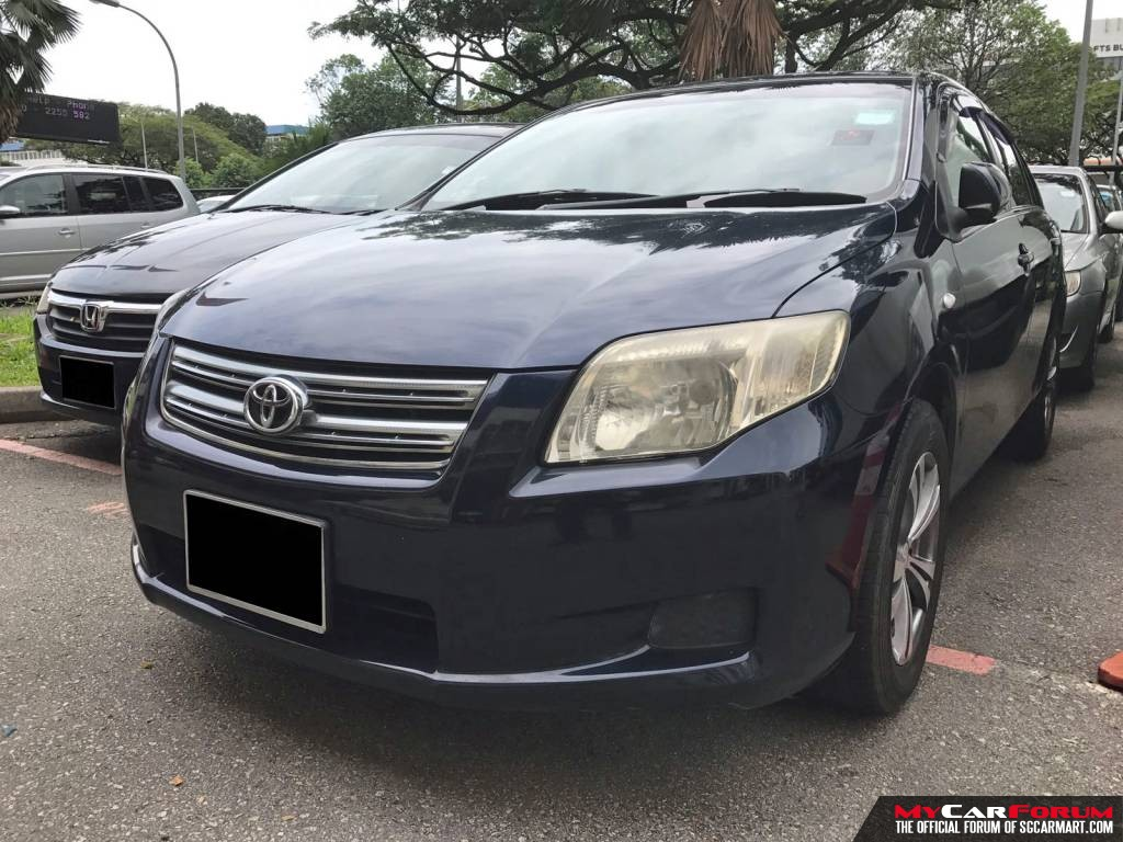 Toyota Axio (For Rent)