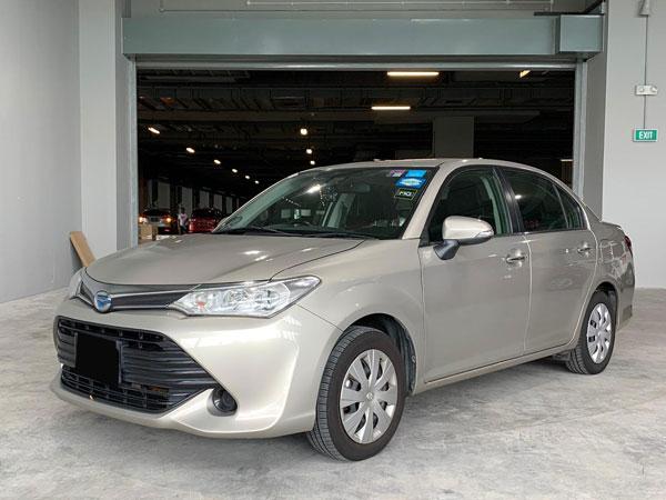 Toyota Axio Hybrid (For Rent)