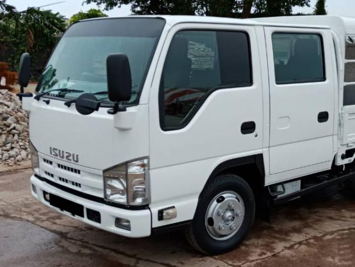 Isuzu NJR85 Twin Cab With Canopy & Tailgate (For Lease)