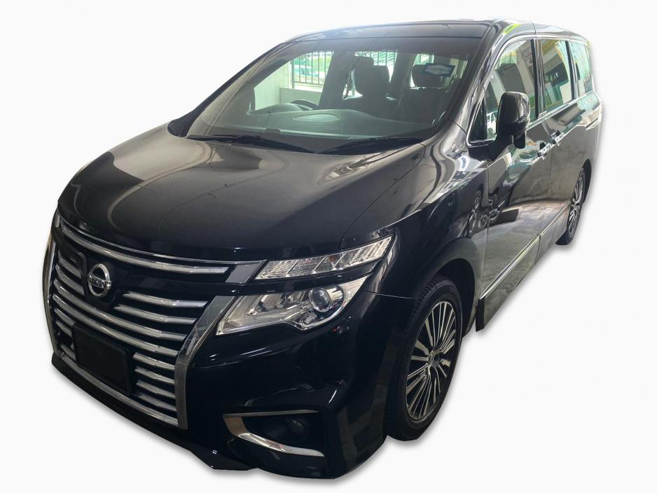 Nissan Elgrand (For Rent)