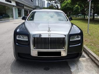 Rolls Royce Ghost 2 Long Wheel Base (Wedding Car Rental)