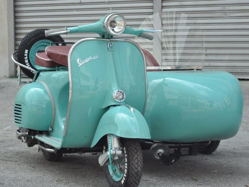 Vespa 150 Scooter (Wedding Car Rental)