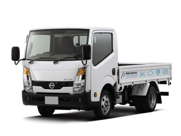 10ft Nissan Cabstar Open-Top (For Rent)