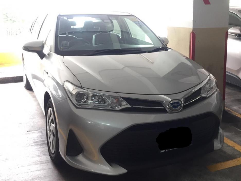 Toyota Axio Hybrid 1.5 (PHV Private Hire Rental)