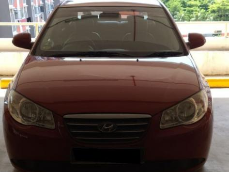Hyundai Avante 1.6A (For Rent)
