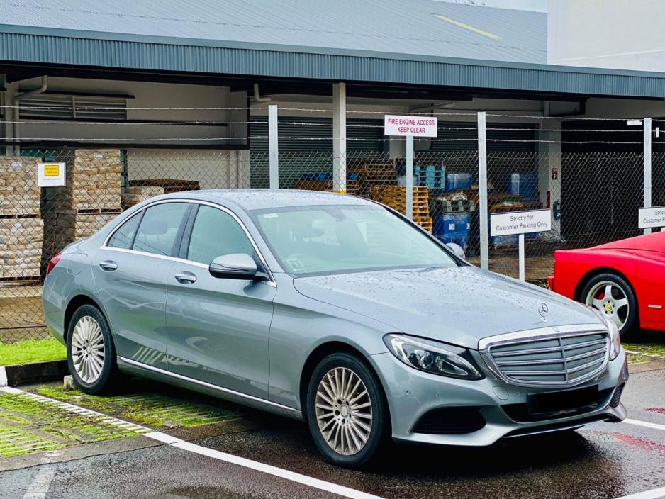 Mercedes-Benz C Class C180 (For Lease)