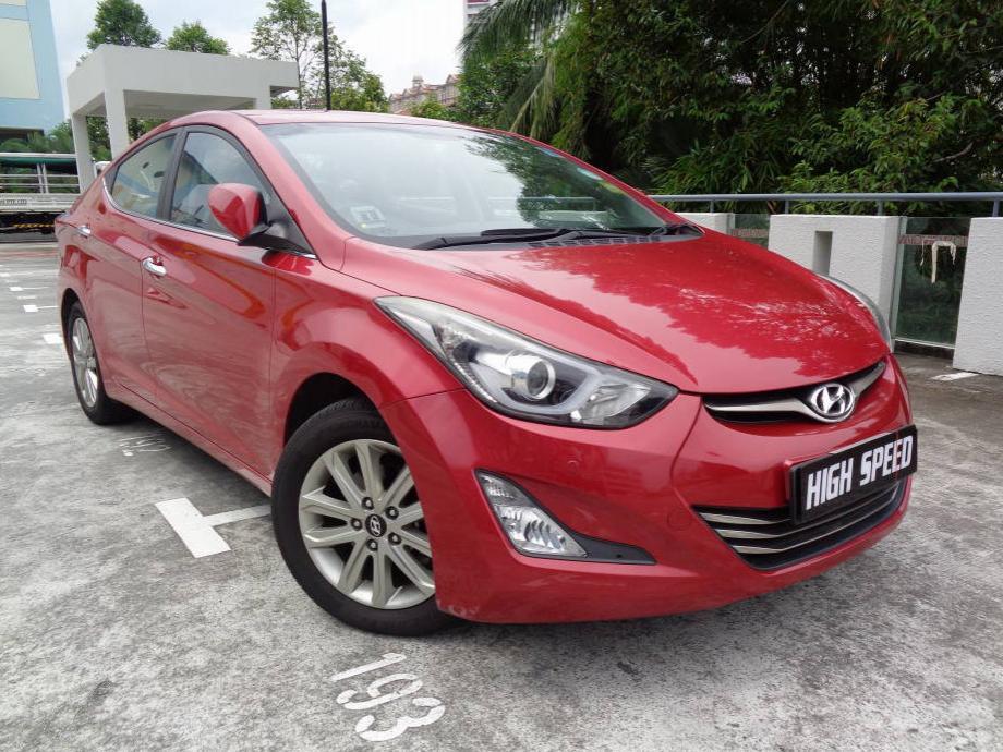 Hyundai Elantra 1.6A (For Rent)