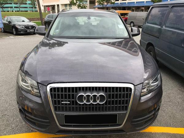 Audi Q5 (For Rent)