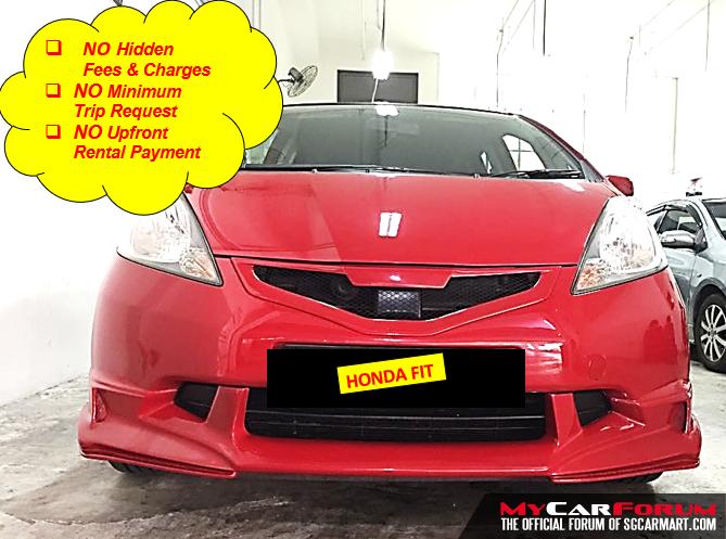 Honda Fit 1.3A (For Rent)