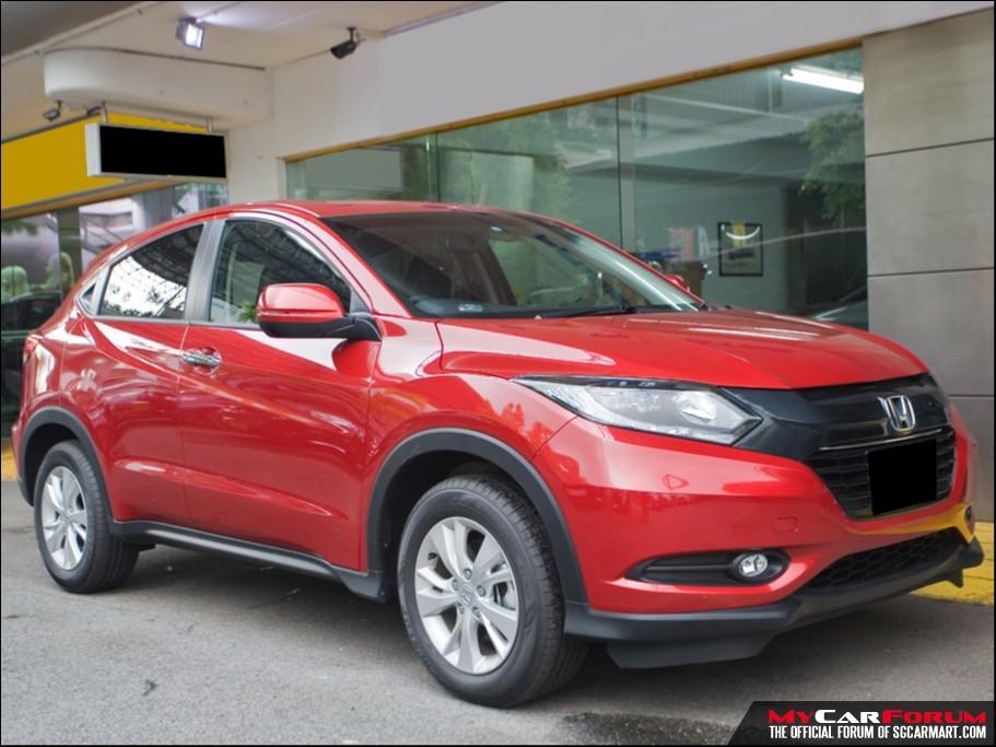 Honda Vezel (For Rent)