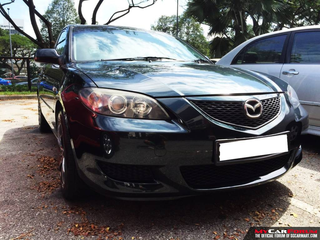 Mazda 3 1.6A (For Rent)