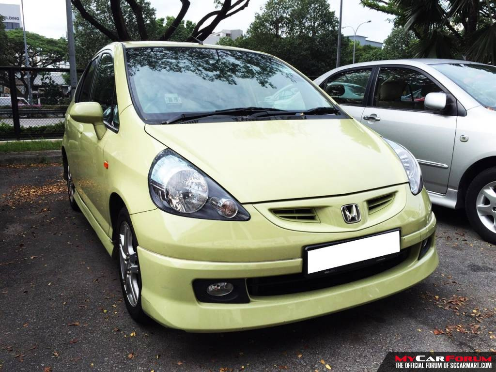 Honda Jazz 1.3A (For Rent)