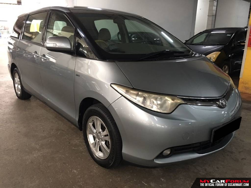 Toyota Previa 2.4A 7 Seater (For Rent)