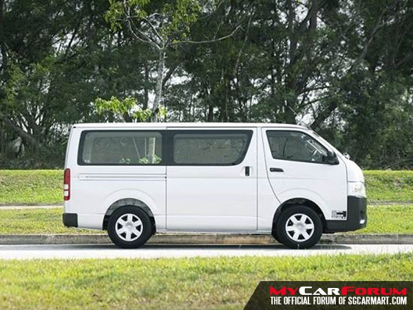 Toyota Hiace (For Rent)