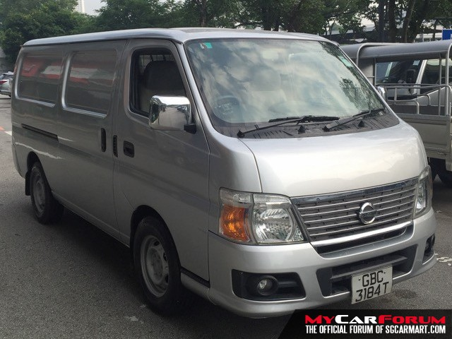 Nissan Urvan (For Rent)