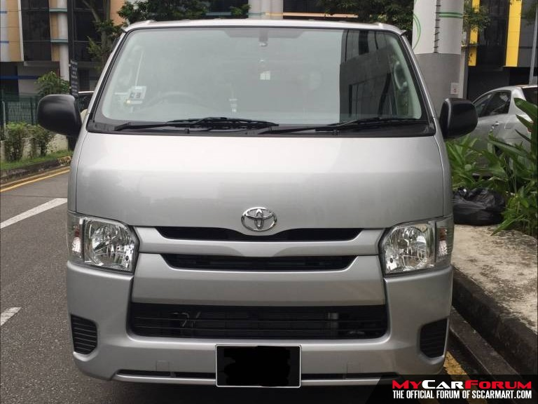 Toyota Hiace (For Lease)