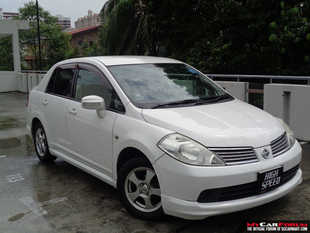 Nissan Latio 1.5L A (For Rent)