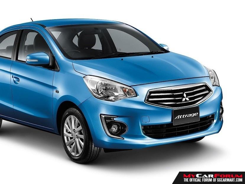 Mitsubishi Attrage (For Rent)