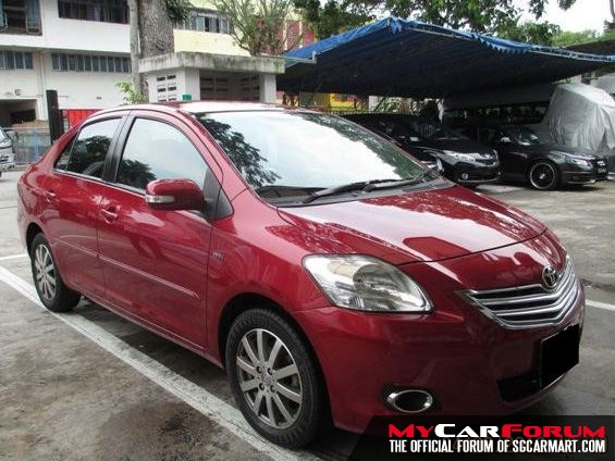 Toyota Vios (For Rent)